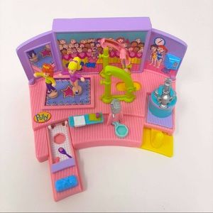 1999 Polly Pocket Vintage Floor Exercise Gym